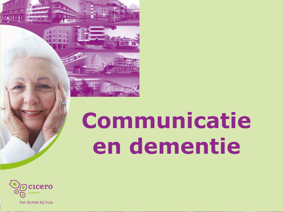 Communiceren met zwaar dementerende mensen: kan dat nog.