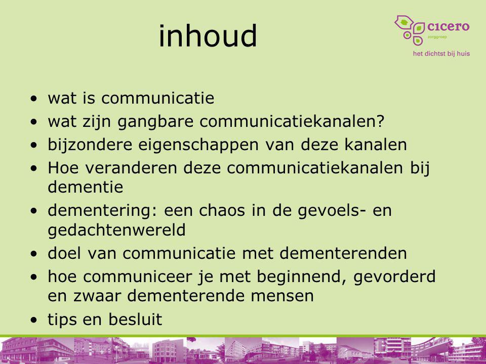 inhoud wat is communicatie wat zijn gangbare communicatiekanalen? bijzondere eigenschappen van deze kanalen Hoe veranderen deze communicatiekanalen bi