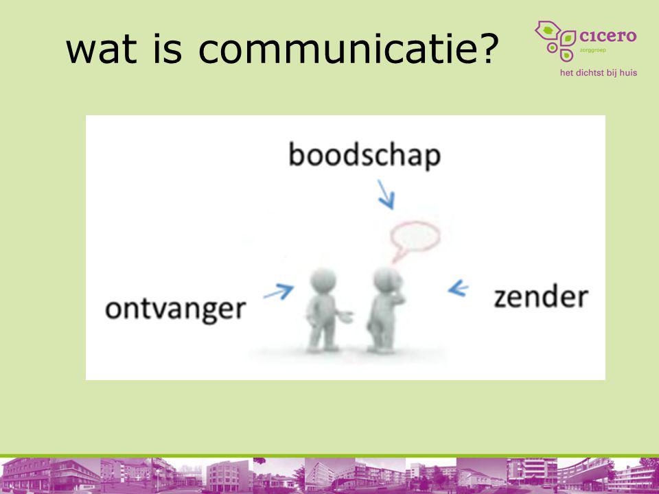 Hoe communiceer je met een beginnend dementerende.