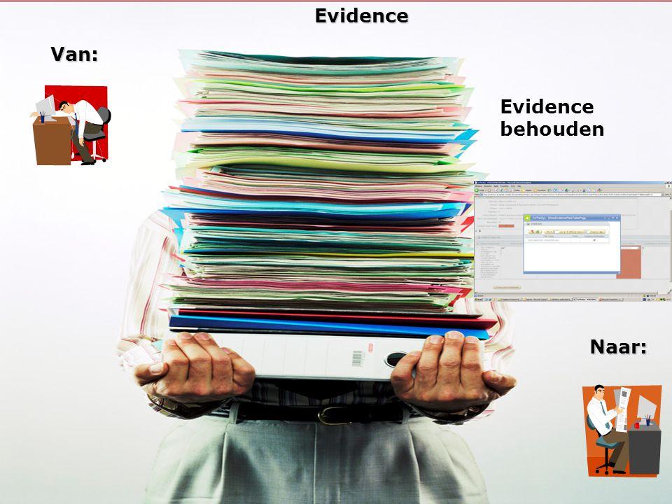 26EvidenceVan: Naar: Evidence behouden