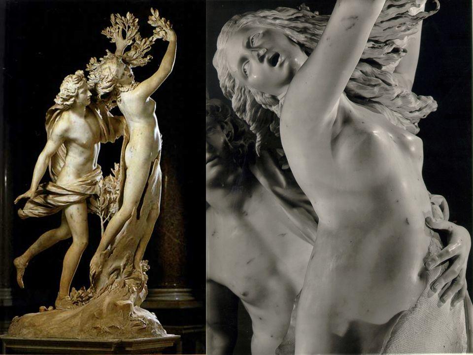 Mythologische verhallen: De door Apollo achtervolgde Dafne verandert in een boom
