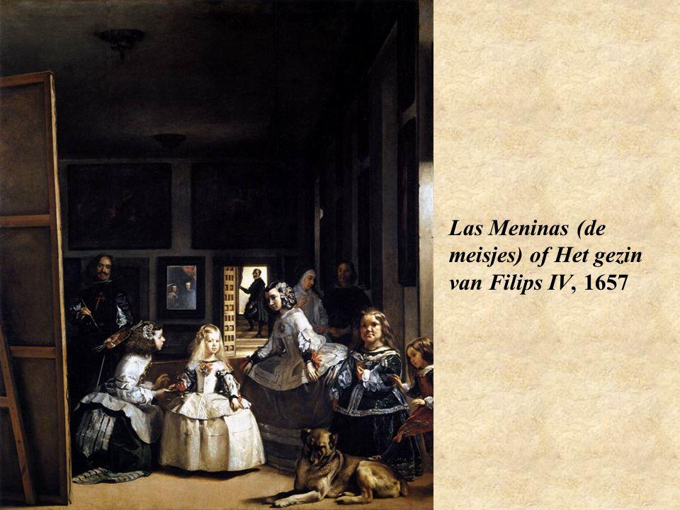 Las Meninas (de meisjes) of Het gezin van Filips IV, 1657