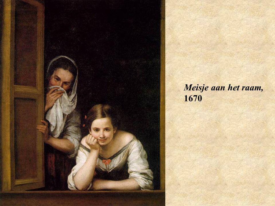 Meisje aan het raam, 1670