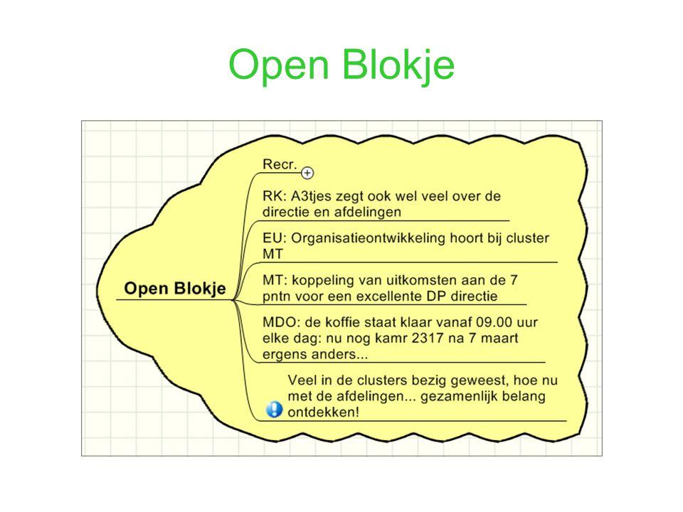 Open Blokje