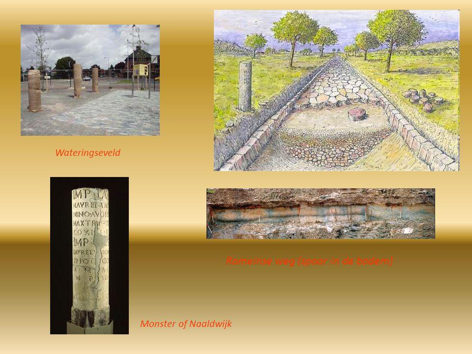 Monster of Naaldwijk Romeinse weg (spoor in de bodem) Wateringseveld