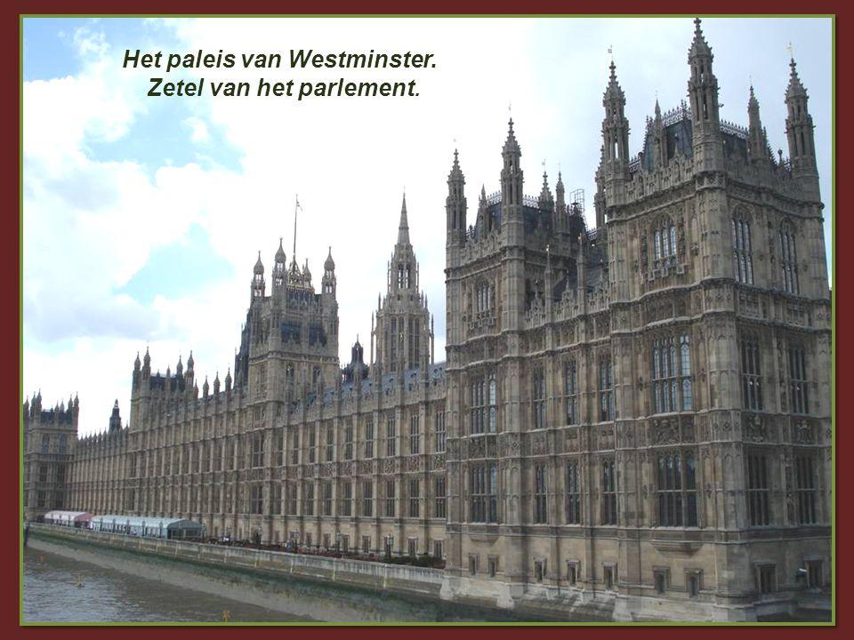 De abdij van Westminster In de ganse wereld bekend door de televisieuitzendingen van koninklijke kroningen, huwelijken en begrafenissen.