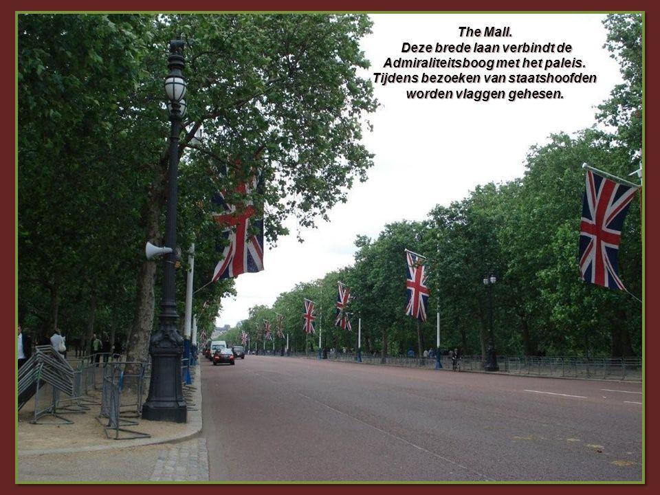 De wijk South Kensington met haar ambassades en consulaten.