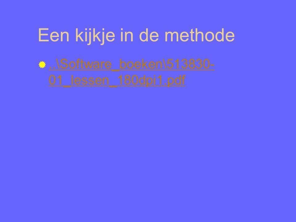 Een kijkje in de methode ..\Software_boeken\513830- 01_lessen_180dpi1.pdf..\Software_boeken\513830- 01_lessen_180dpi1.pdf