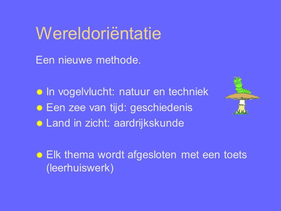 Wereldoriëntatie Een nieuwe methode.