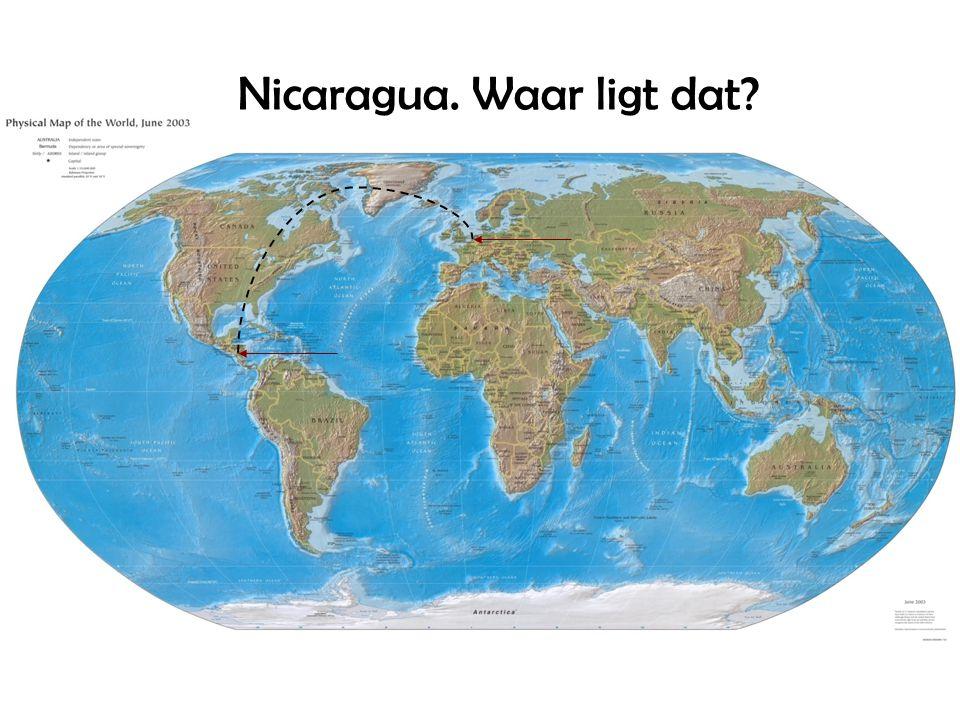 Nicaragua. Waar ligt dat?