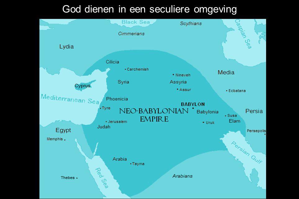 God dienen in een seculiere omgeving