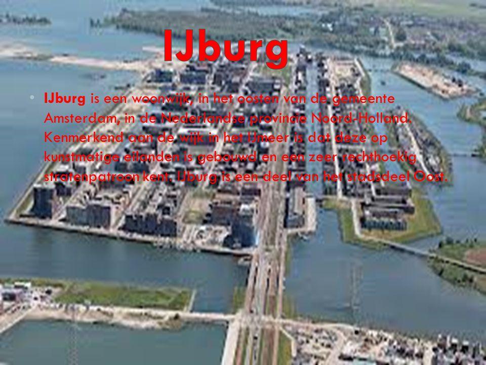 IJburg is een woonwijk, in het oosten van de gemeente Amsterdam, in de Nederlandse provincie Noord-Holland. Kenmerkend aan de wijk in het IJmeer is da