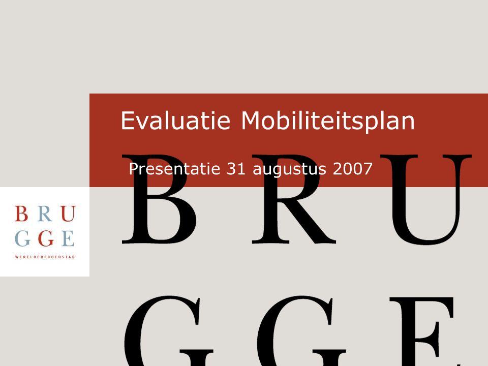 Bedankt voor uw aandacht Vragenronde Evaluatie mobiliteitsplan