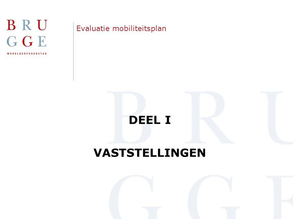 Aanpak van de evaluatie  Uitgevoerde tellingen en metingen:  Evolutie parkeren binnenstad t.o.v.