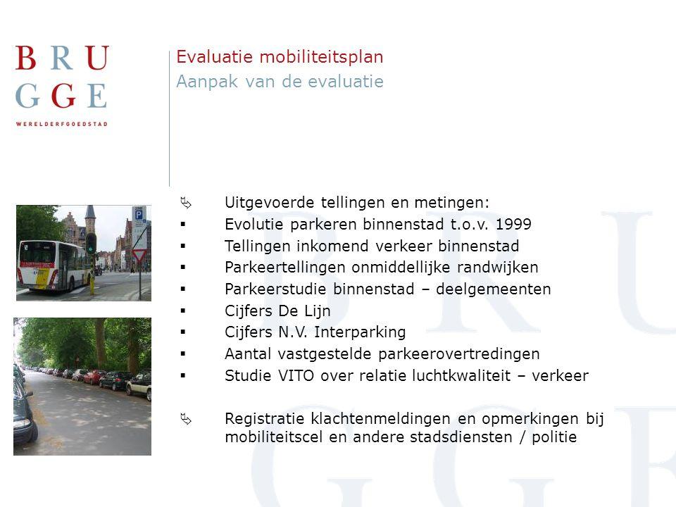 Gemiddelde bezettingsgraad=56% LOB 1 Stubbenkwartier Evaluatie mobiliteitsplan: vaststellingen Parkeertellingen randwijken