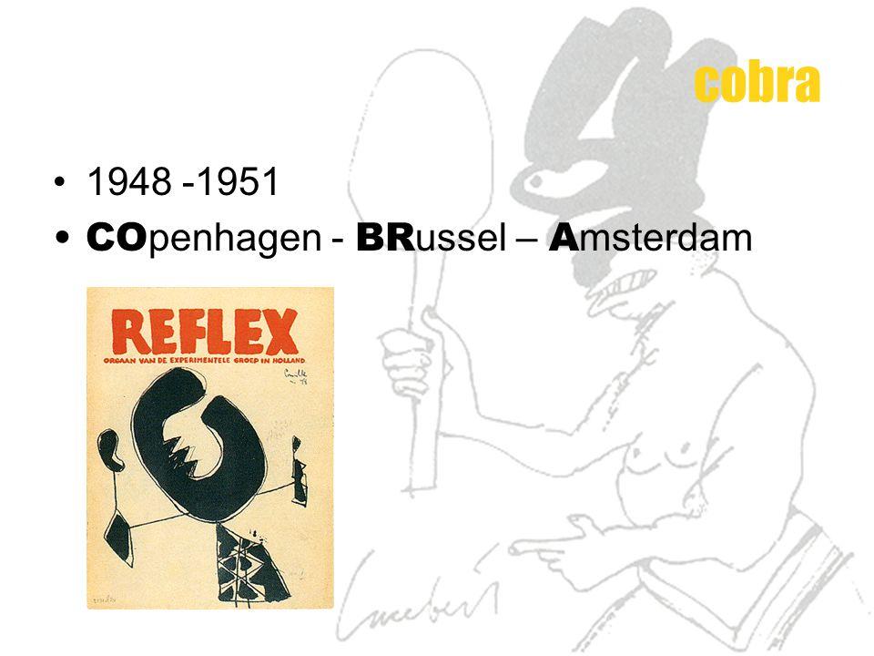 1948 -1951 CO penhagen - BR ussel – A msterdam