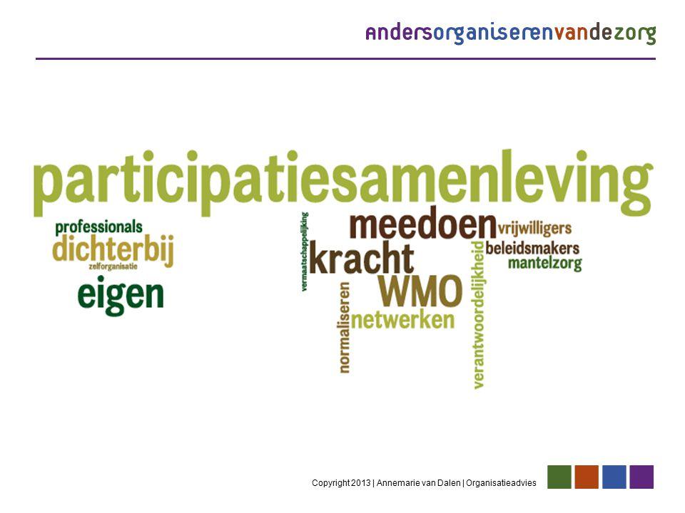 Copyright 2013 | Annemarie van Dalen | Organisatieadvies