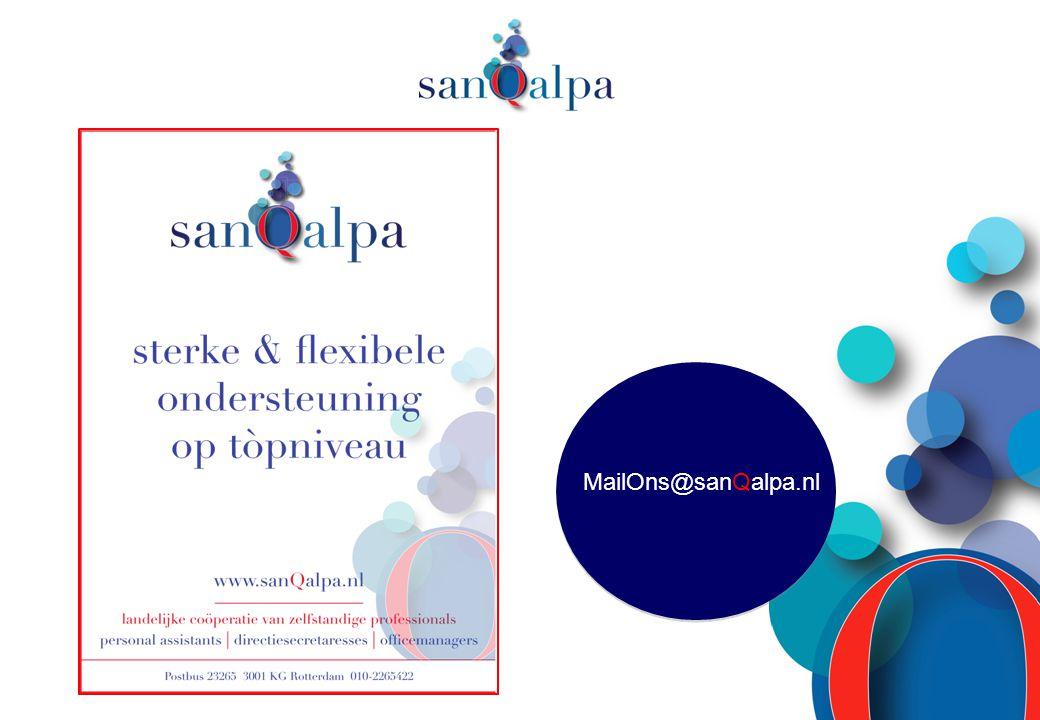 MailOns@sanQalpa.nl