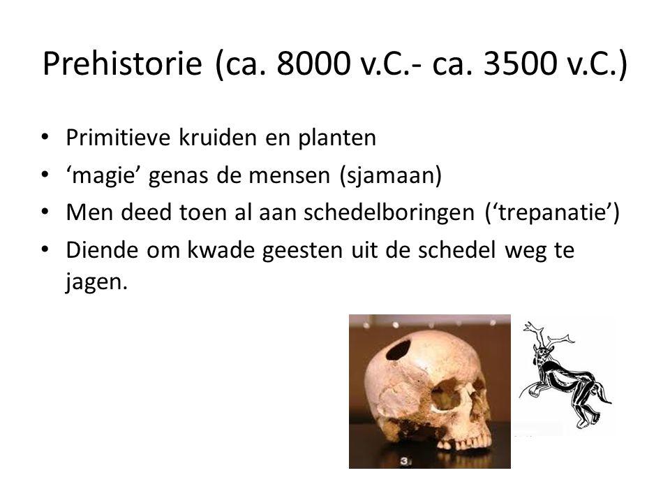 Prehistorie (ca.8000 v.C.- ca.