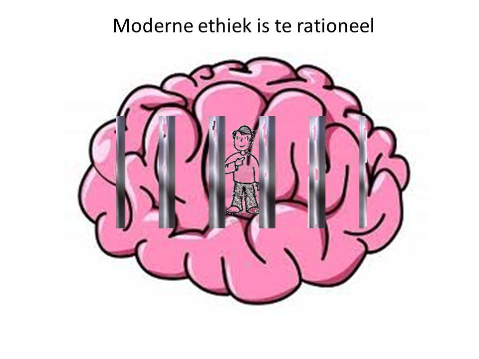 Moderne ethiek is te rationeel
