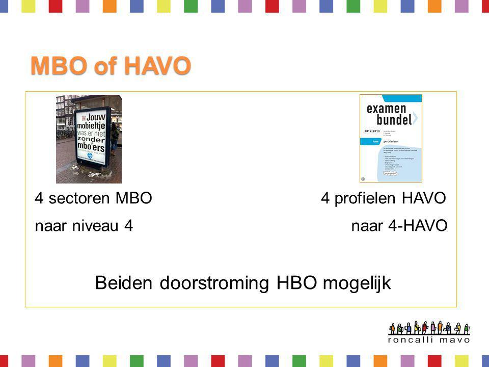 HAVO Economie & Maatschappij Gemeenschappelijk deel Geschiedenis Economie Wiskunde A 1 vak uit Frans/Duits/Aardrijkskunde/M & O 1 keuzevak vrije deel