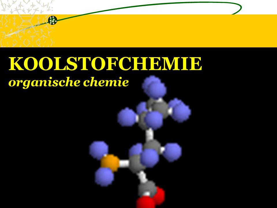 KOOLSTOFCHEMIE organische chemie