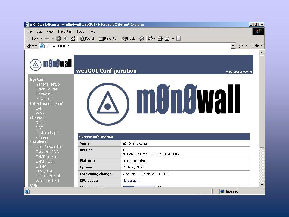 Installeren verdeel server II
