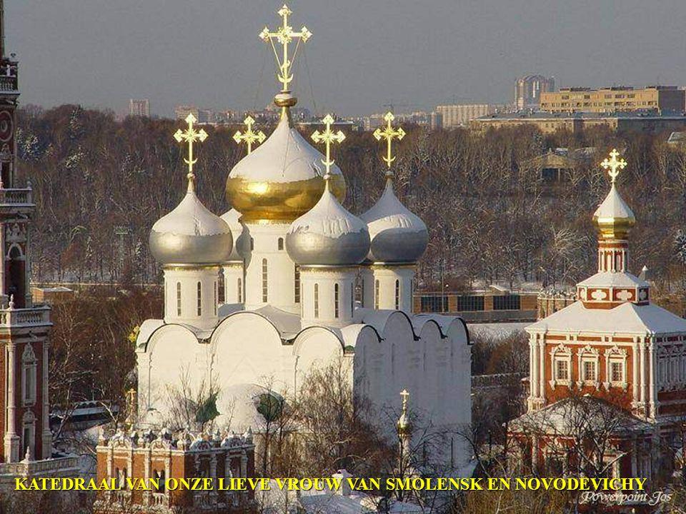 KLOOSTER NOVODEVITCHI TE MOSKOU
