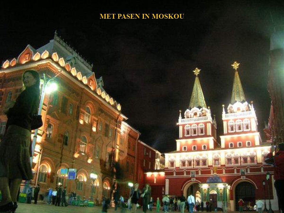 DE METRO VAN MOSKOU