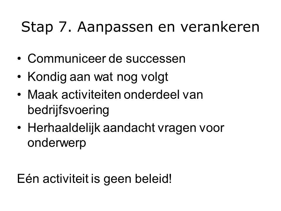 Stap 7.
