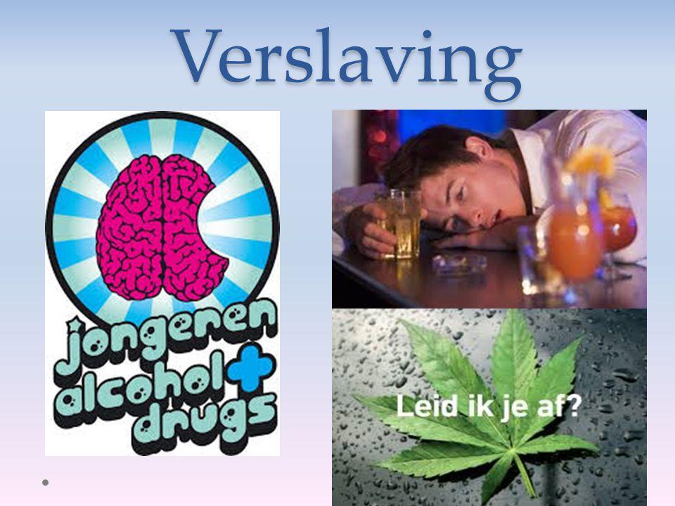 Inhoud Wat is verslaving? Verslavende middelen Alcohol Cannabis Quiz Literatuur Vragen??