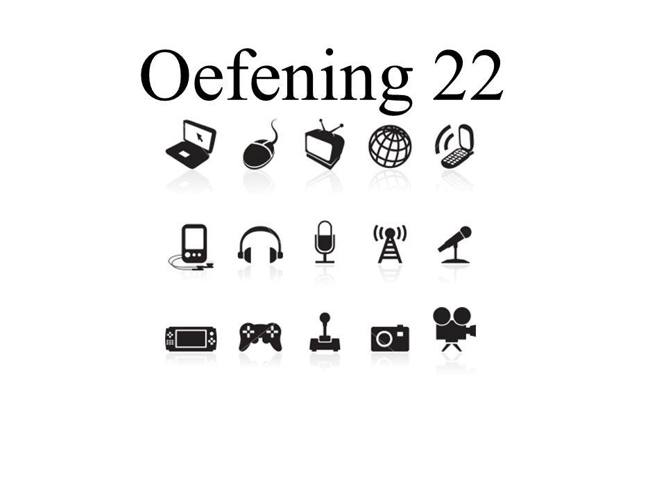 Oefening 22