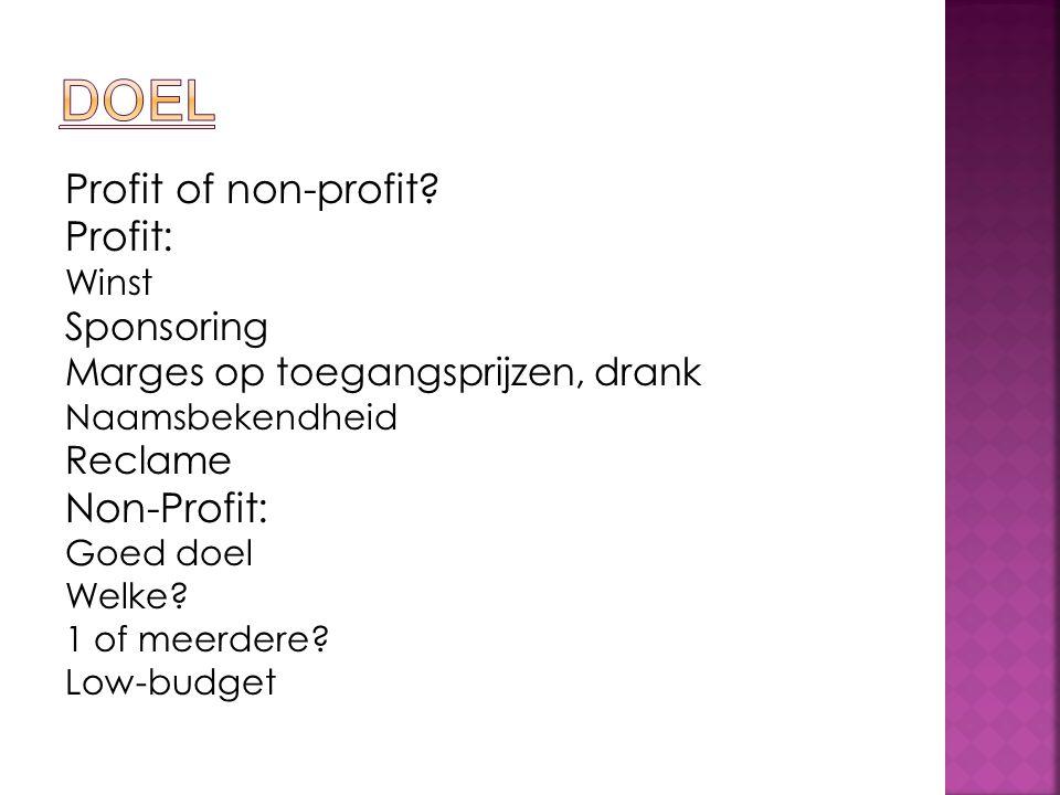 Profit of non-profit.