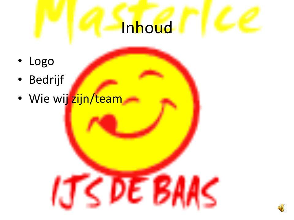 Inhoud Logo Bedrijf Wie wij zijn/team
