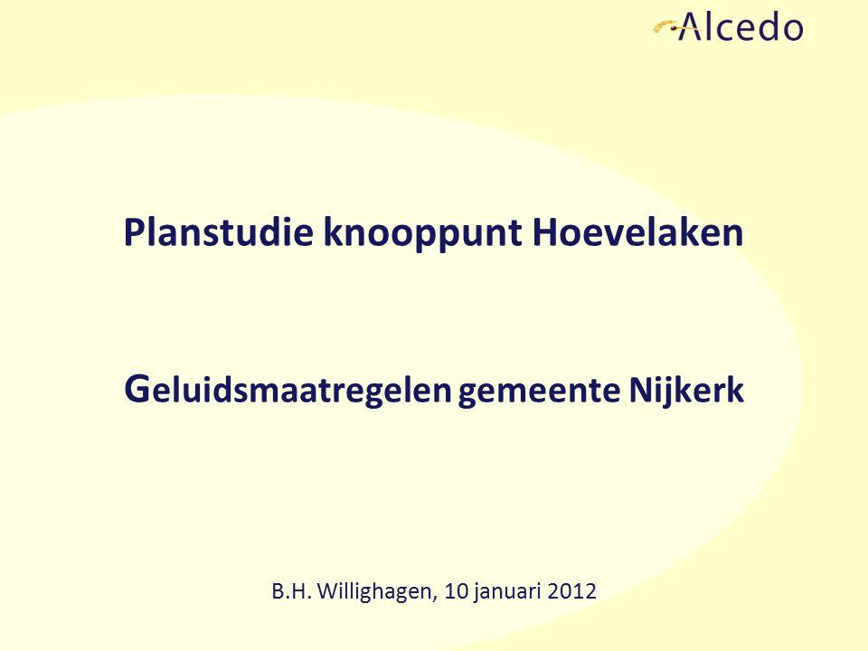 Planstudie knooppunt Hoevelaken G eluidsmaatregelen gemeente Nijkerk B.H.
