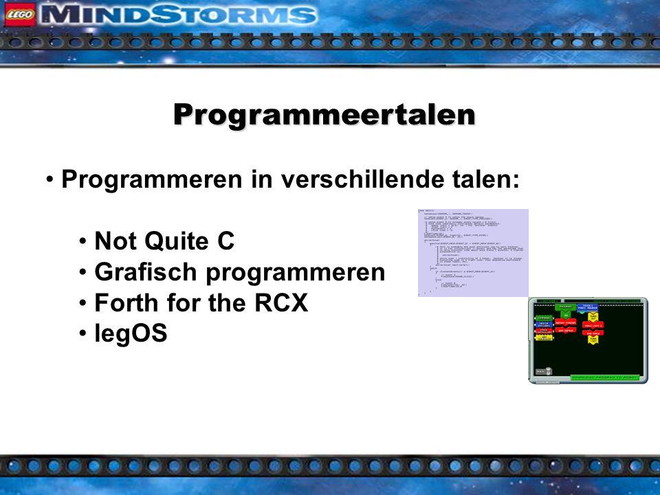 Personal Computer nodig (Ruputer) Communicatie tussen computer en controller Taal nodig voor programmeren Mogelijk door CPU in controllers Talen nodig voor verschillende doelgroepen Programmeren van controllers