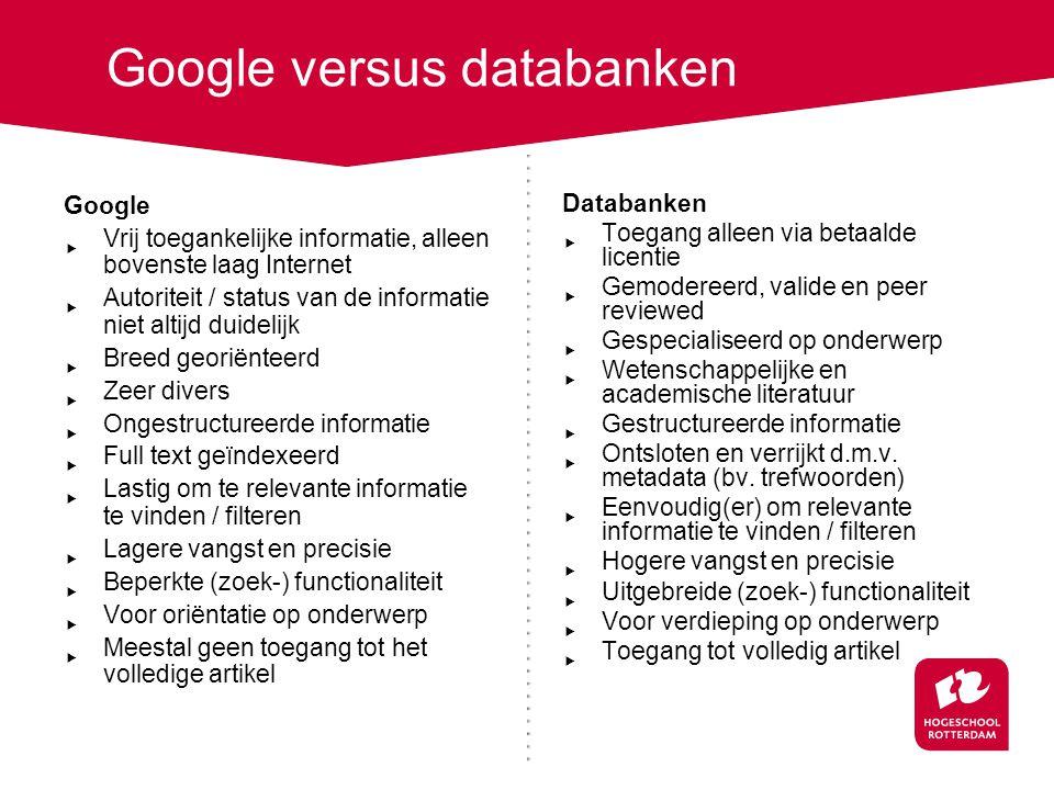 Wat zijn databanken? http://www.youtube.com/watch?v=Estp65h1nVE