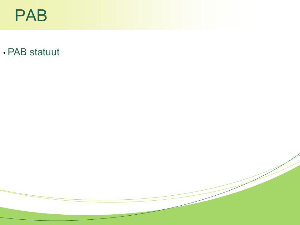 PAB PAB statuut