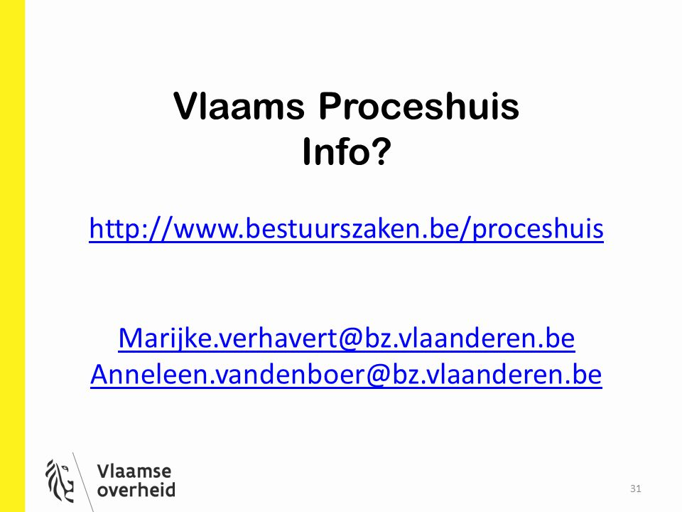 31 Vlaams Proceshuis Info.