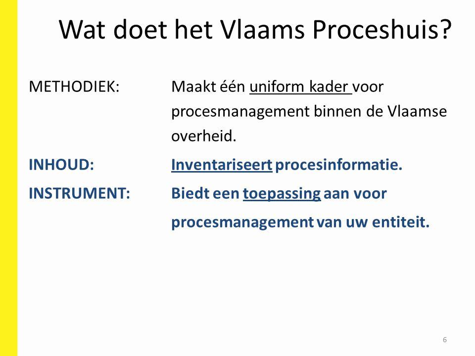 6 Wat doet het Vlaams Proceshuis.