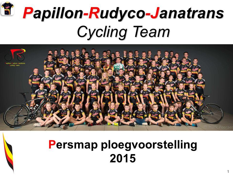 Papillon-Rudyco-Janatrans Cycling Team 1 Persmap ploegvoorstelling 2015