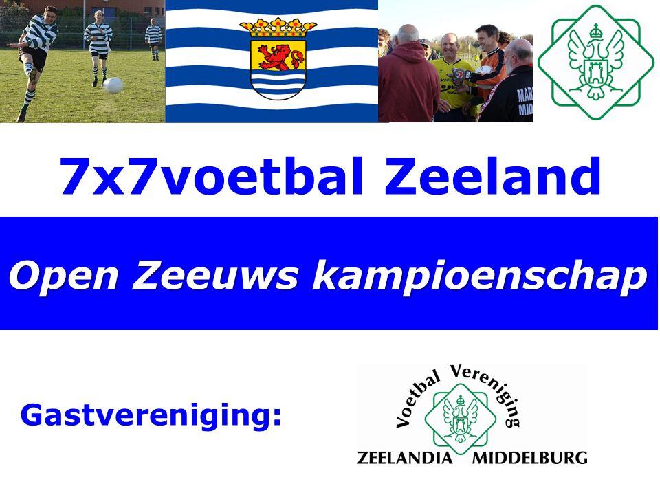 7x7voetbal Zeeland Open Zeeuws kampioenschap Gastvereniging: