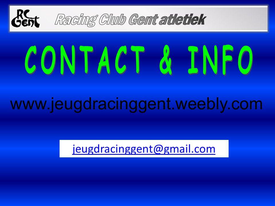www.jeugdracinggent.weebly.com jeugdracinggent@gmail.com