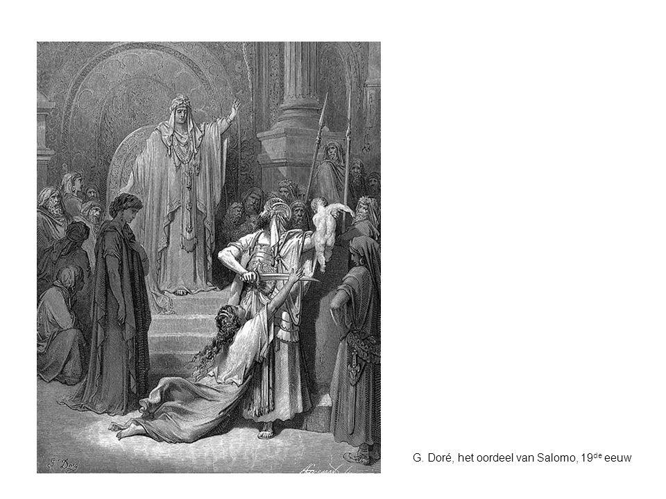 G. Doré, het oordeel van Salomo, 19 de eeuw