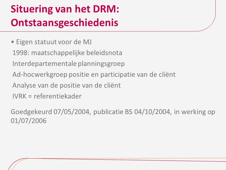 Algemene bepalingen DRM Decreet regelt gemeenschapsaangelegenheid Begripsverklaring