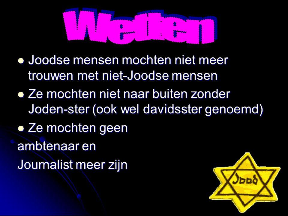 Anti-Joden reclames Anti-Joden reclames Het opperras was de baas Het opperras was de baas Joden zijn uitschot! Joden zijn uitschot!