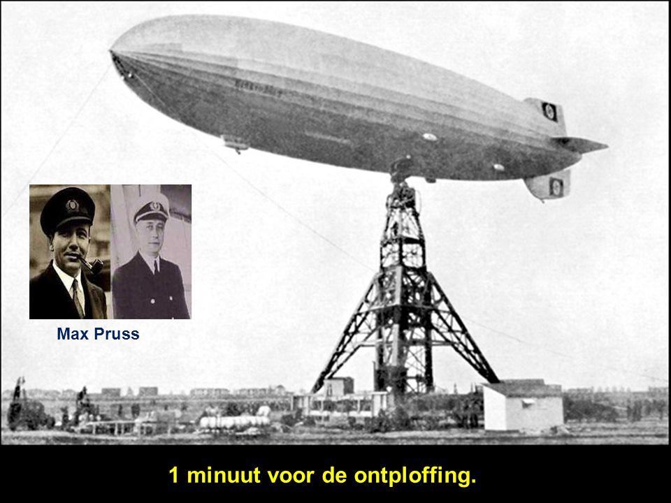 De commandant was kapitein Max Pruss, een luchtschipofficier met ruime vliegervaring en tot voor kort gezagvoerder van de Graf Zeppelin. De Hindenburg