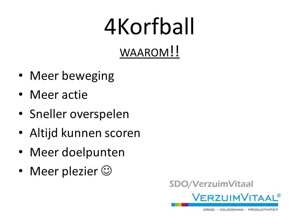 4Korfball WAAROM !.