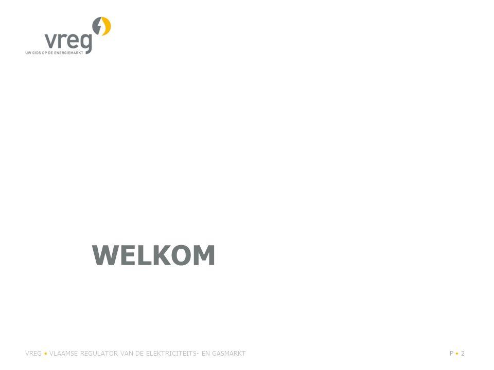 Levering van elektriciteit en aardgas Vlaanderen heeft nog altijd één van de hoogste switchgraden in de wereld (elektriciteit: 11,92% en aardgas: 13,89% in 2014) Sterk gestegen concurrentie door afname concentratie: Concurrentie zet druk op de prijzen VREG VLAAMSE REGULATOR VAN DE ELEKTRICITEITS- EN GASMARKTP 13