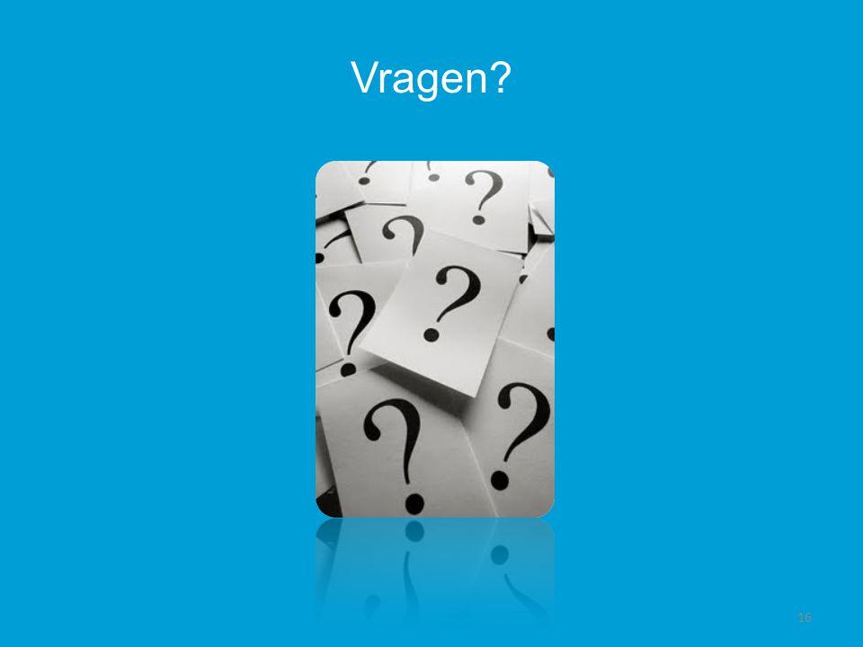 Vragen 16